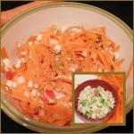 Carrot Cole Slaw Salad