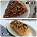 Leftover Pecan Pie Salmon
