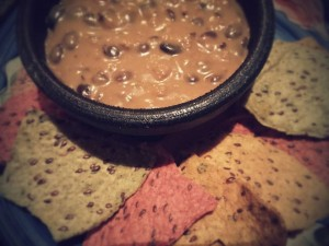 Leftover Red Bean Dip