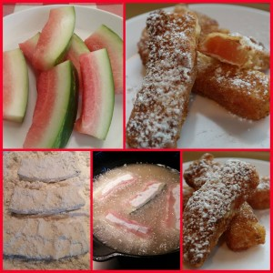 fried watermelon rind