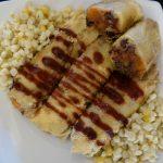 BBQ Cornmeal Tamale