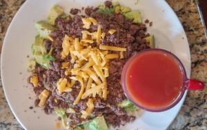 No Beef Taco Salad