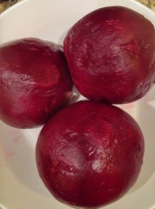 Beautiful Peeled Beets