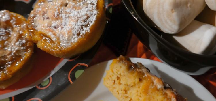 Pumpkin Marshmallow Muffins