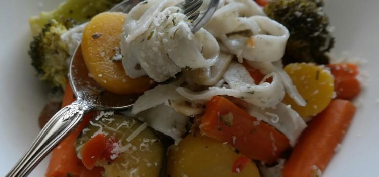 Leftover Vegetables Pasta Primavera