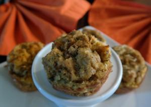 Thanksgiving Leftovers Stuffed Breakfast Rolls