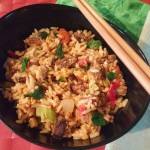 Vegetable Beef Soup Fried Rice