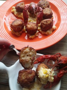 Crawfish Fritters-Makeover My Leftover