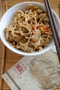 Makeover My Leftover Chow Mein noodles