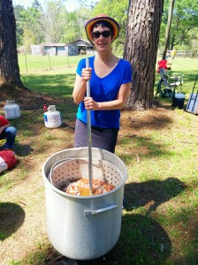 crawfish chef Susanne Duplantis