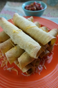 Minced Turkey Taquitos
