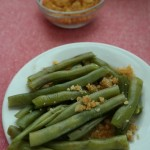 French fry green beans