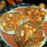 Candy Corn Pancakes