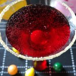 Pomegranate Bubble Gum Martini