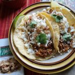 Roasted Walnut and Cauliflower Tacos