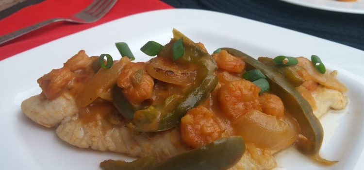 Louisiana Poached Catfish