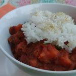 Coconut Curry Red Beans