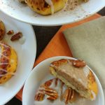 Leftover Cinnamon Roll Pumpkin Spice Cheesecakes