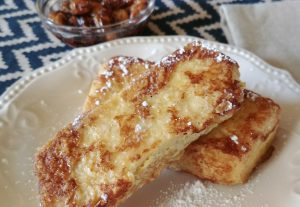 Leftover Grits Golden Bread French Toast