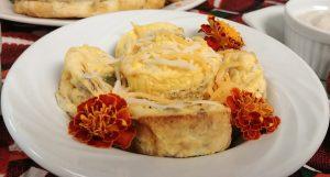 Mini Leftover Jambalaya Omelettes