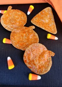 Candy Corn Coated Tortilla Chips