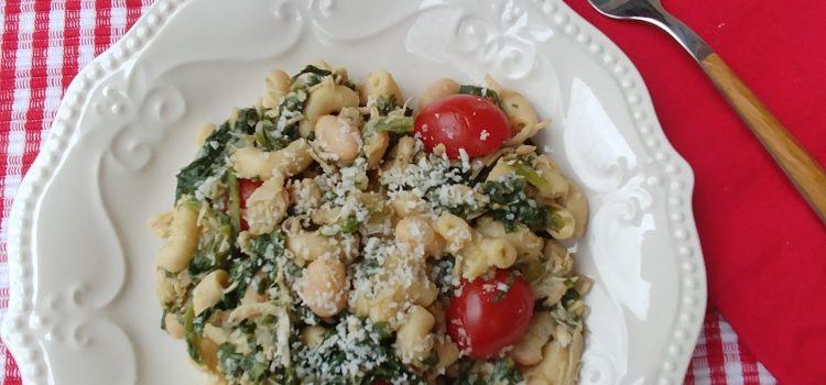 Tuscan Rotisserie Chicken Pasta