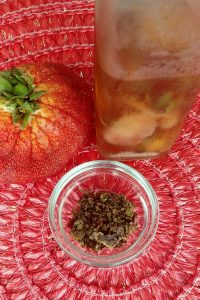 Strawberry Top Tea and Vinegar