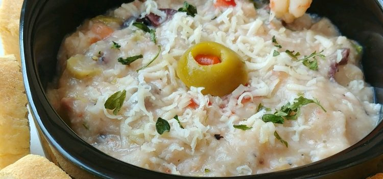 Zesty Lemon Boiled Shrimp Dip