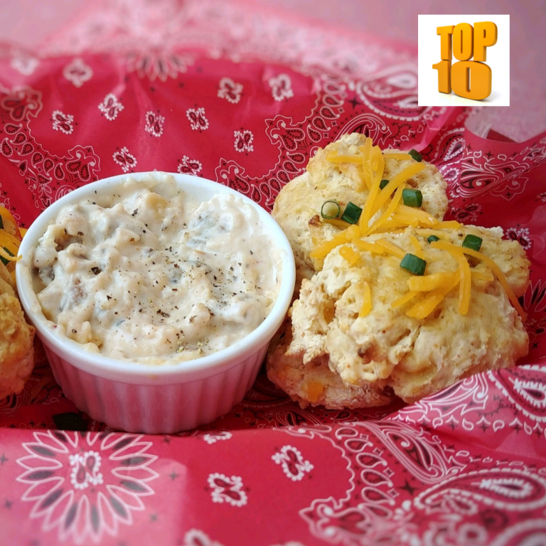 Leftover Mac and Cheese Biscuits