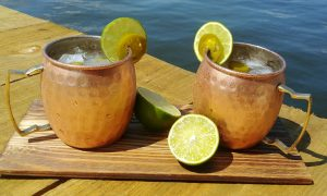 Hot Summer Jalapeno Juice Mule