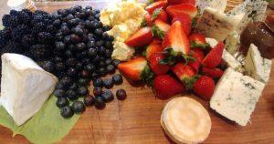 Fresh Berry Cheese Board